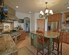 kitchen by Kimberly Cole Design http://www.houzz.com/photos/64297/Kimberly-Cole-Design-mediterranean-kitchen-other-metro