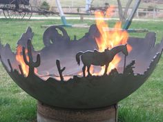 Fire pits are a time-honored summertime place for bonfires and other parties. They do, of course, come in many shapes, sizes, and are made out of different materials. From stone creations to custom-cut wrought iron silhouetted scenes, each one of the fire pits we've collected is unique and perfectly suited to a different style. Fire …