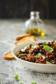 Veggie Recipes, Food Pictures, Veggies, Cooking, Vegetarian Lasagne, Balsamic Vinegar, Vegetarian Meal, Pepper, Food Trip