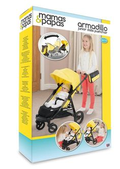 Mama & Armadillo di Papa - The Little Big Passeggino - Dolls Pram
