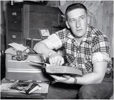 "Crime novelist and creator of Mike Hammer, Frank Morrison ""Mickey"" Spillane"