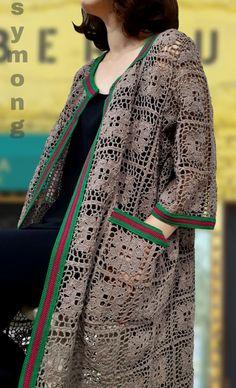 Cute Skirt Outfits, Cardigan Outfits, Cute Skirts, Long Cardigan, Crochet Coat, Crochet Jacket, Crochet Cardigan, Crochet Clothes, Casual Hijab Outfit