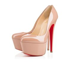 Christian Louboutin United States Official Online Boutique - Victoria 160  Nude Patent Leather available online. Discover more Women Shoes by Christian  ...