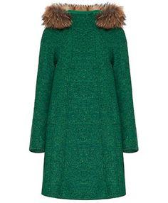 Coat Max&Co...love green..