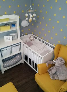 Baby Room Design, Baby Born, Cribs, Toddler Bed, Kids Room, Children, Inspiration, Furniture, Anna