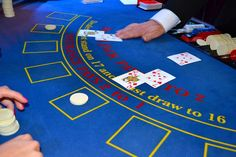 Learn how to play blackjack at a casino in 2020 with our guide. Discover a popular casino card game that features a low house edge and fast game play Casino Royale, Mafia Party, Gambling Sites, Gambling Machines, Online Gambling, Casino Night Party, Casino Theme Parties, 80s Party, Best Casino