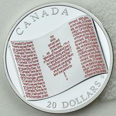2013 O Canada 1//2 oz Silver $10 Maple Leaf Painted