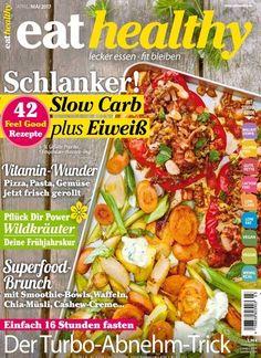 #Schlanker! #SlowCarb plus #Eiweiß - 42 Feel Good #Rezepte  Jetzt in #eathealthy:  #LowCarb #SlowFood #Kochen #Diät