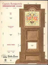 Buster Brown Shoes Promo/ Grandfather Clock