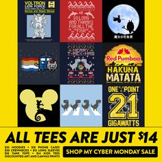 Cyber Monday SALE in my Teepublic Store – All Tees just $14!!! #Cybermonday #giftideas
