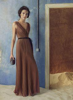 Brown dress (Hoss Intropia 2012)