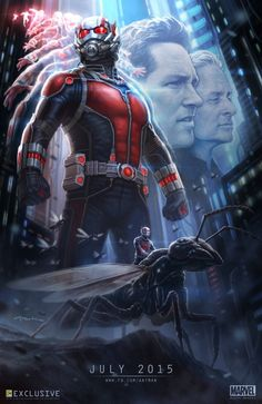 The next evolution of the Marvel Cinematic Universe brings founding member of The Avengers to the big screen for the first time with Marvel Studios Ant-Man