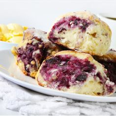Blueberry Streusel Scones Recipe - from War Eagle Mill