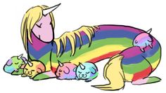 "tumblr_m93e6ch0qO1qhoih8o1_1280.png (664×376) arcoiris con los ""jakecitos"""
