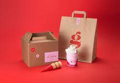 Food Branding, Food Packaging Design, Branding Agency, Brand Packaging, Branding Design, Logo Design, Pastry Logo, Bakery Shop Design, Cake Packaging