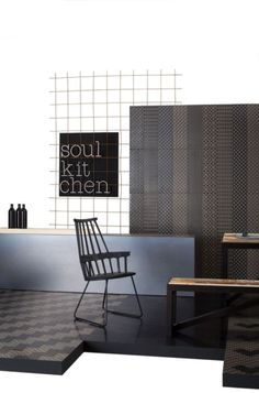 Perini tiles- Bari is an amazing new range of geometric patterns and embossed texture