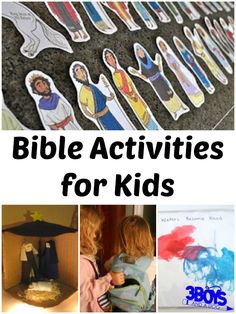 Bible Activities for Kids Bible Story Crafts, Bible School Crafts, Bible Stories, Bible Lessons, Lessons For Kids, Preschool Bible Activities, Bible Study For Kids, Printable Bible Verses, Sunday School Lessons