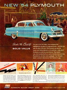 1954 Plymouth Belvedere 4-Door Sedan