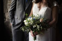 A beautiful pastel bouquet for her wedding at Kinnitty Castle. A real wedding by Couple Photography Wedding Ceremony, Wedding Day, Pastel Bouquet, Wedding Bouquets, Wedding Dresses, Magical Wedding, Down Hairstyles, Looking Stunning