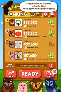 LINE PokoPang, a revolutionary puzzle game, is now available on LINE GAME!Help Pokota the pink bunny and his Animal friends fight the Monsters invading their village in this cute action puzzle game! Hack Online, Online Work, Block And Tackle, Line Game, My Score, Monster S, Game Ui, Letting Go, Lets Go