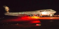 Heavy metal band Iron Maiden's 747 is badly damaged in a ground accident in Chile. No fatalities.