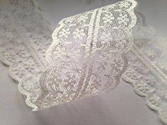 Vintage Stil, Spitze, Schleife, Band Bridal Wedding Zierrand, 47 mm Elfenbeinfarben Sparkles Gems http://www.amazon.de/dp/B00NY4FE5U/ref=cm_sw_r_pi_dp_smNbwb10PTABM