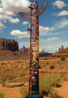 Supersize American Indian Wooden Totem Pole 400cm | Fair Trade Gift Store | Siiren