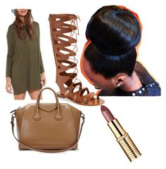 Untitled #62 by daijah-escobar on Polyvore featuring polyvore, fashion, style, Topshop and Givenchy