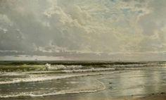 Pintura de William Trost Richards - infotocopiável: Ermitão