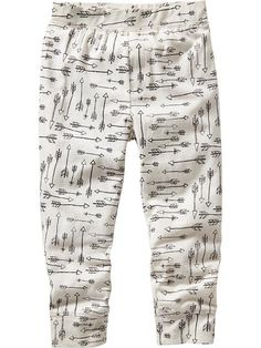 Patterned Jersey Joggers for Baby