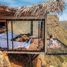 After seeing pictures of the stunning Refugio La Roca Hotel in Colombia, you'll add it to your travel bucket list ASAP. It's the ideal place for being one with Casa Top, Casas Containers, The Perfect Getaway, Tiny House Plans, Cabana, Beautiful Places, Around The Worlds, Adventure, Vacation