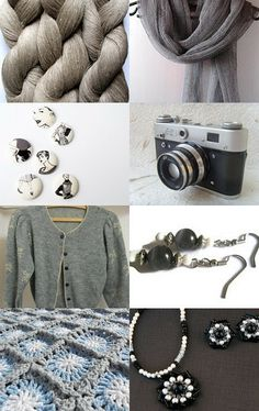 Great Greys! by Sky Croswell on Etsy--Pinned with TreasuryPin.com