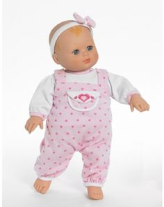 Hearts a Flutter Baby Girl Doll