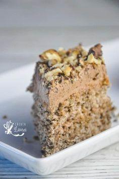 Banana Bread Reteta, Sweets Recipes, Cake Recipes, Romanian Desserts, Something Sweet, Nutella, Cheesecakes, Sweet Treats, Food And Drink