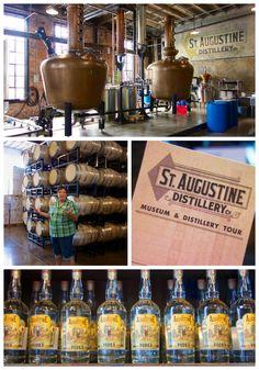 Augustine, FL - Florida's first legal distillery. I've had their sugarcane vodka, it's delicious! Visit Florida, Florida Vacation, Florida Travel, Florida Beaches, Florida Trips, Vacation Destinations, Vacation Spots, Vacation Packages, Vacations