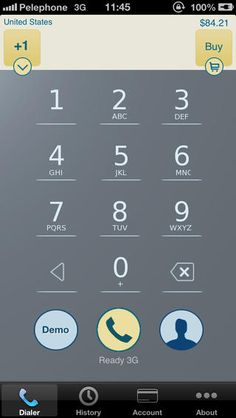 Call India - IntCall  With this iPhone app you can make cheap calls