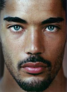 Willy Monfret - French model--the eyes and brows. Beautiful Men Faces, Black Is Beautiful, Beautiful People, Male Eyes, Male Face, Eye Candy, Stunning Eyes, Amazing Eyes, Look Into My Eyes