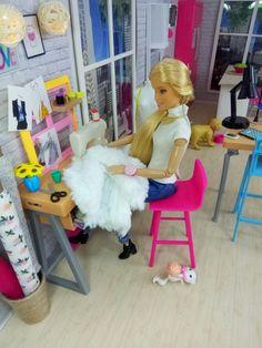 My design workshop Barbie_Collector Baby Barbie, Barbie Sets, Barbie Life, Barbie House, Barbie And Ken, Barbie Dolls, Barbie Tumblr, Custom Barbie, Dolls House Shop