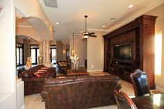 Luxury living room by Knipp http://knippcontracting.com