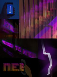 """""""...you need to know..."""" #holographic #lightpainting #quotes #umbertoeco #makingof"""