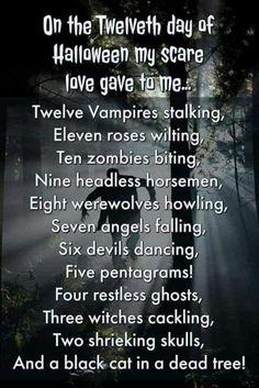 Halloween Poems, Halloween Countdown, Halloween Pictures, Spirit Halloween, Scary Halloween, Happy Halloween, Halloween Stuff, Halloween Humor, Halloween Cartoons