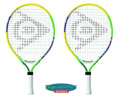 We stock a wide range of tennis rackets, like this #Dunlop tennis rackets, available from #TopGearSport.