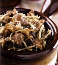 Traditional Chinese Hakka Confinement Food Recipe - Mei Cai (Dried Salted Mustard-Cabbage) Braised Meat Asian Recipes, Real Food Recipes, Cooking Recipes, Healthy Recipes, Ethnic Recipes, Post Natal Diet, Confinement Food, Traditional Chinese, Chinese Food