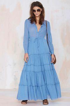 Carolina K Nathalie Collared Dress