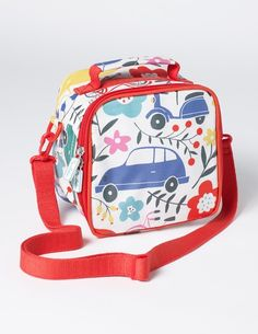Printed Lunch Bag (Blooming Traffic)