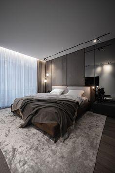 Modern Luxury Bedroom, Master Bedroom Interior, Bedroom Inspo, Luxurious Bedrooms, Bedroom Decor, Modern Master Bedroom, Home Room Design, House Design, Interior Architecture