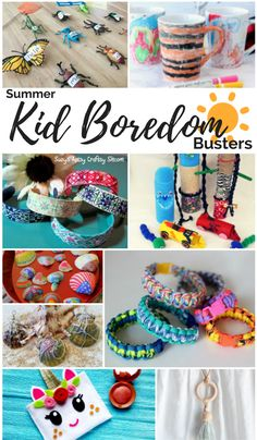 Kid Summer Boredom Busters – Young & Teen Kid Ideas