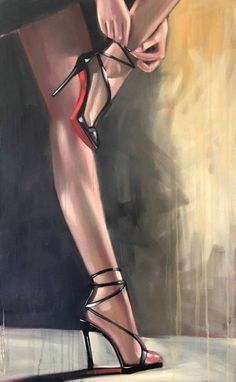 Günter Tauchner Rosenblätter The most beautiful picture for body painting that . - Günter Tauchner Rosenblätter The most beautiful picture for body painting that suits your pleasur - Fashion Sketches, Art Sketches, Art Drawings, Art Sur Toile, Anime Sensual, Shoe Art, Erotic Art, Female Art, Art Inspo