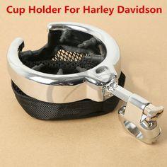 Handlebar Quick Release Motorcycle Drink Cup Beverage Holder Kawasaki Suzuki Yamaha Hnda