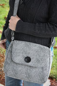 Concealed Carry Cross Body with Holsters by ConcealedChic on Etsy